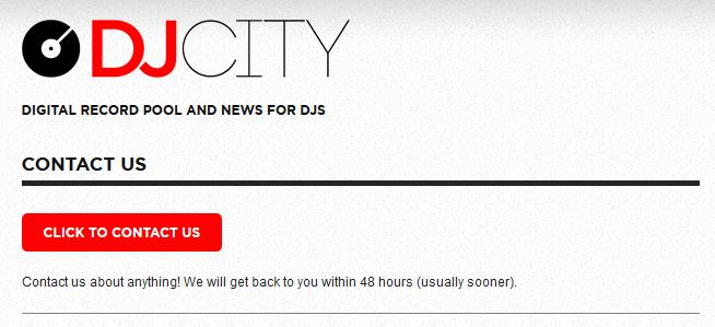 Zum Kündigen musst Du nur eine Mail über das Kontaktformular bei DJCity sednden