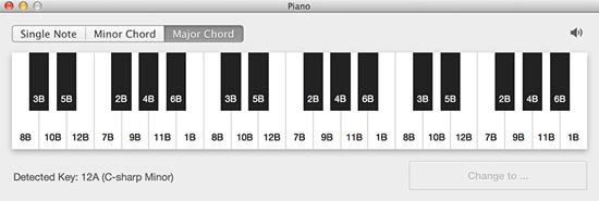 Das Piano ist eine der Neuerungen in Mixed In Key 6