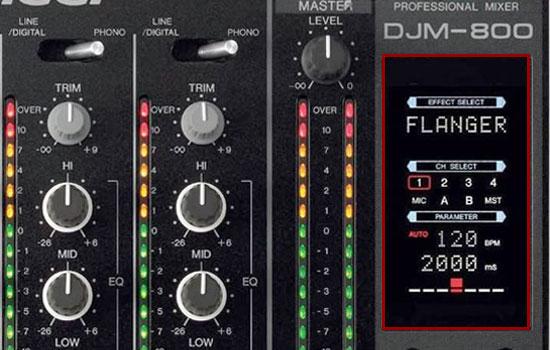selbst bekannte DJs nutzen den Flanger gern allzu oft