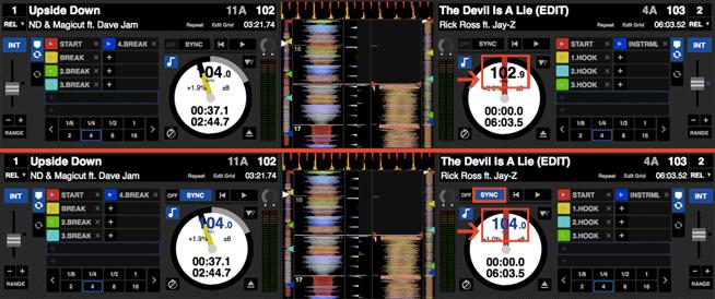 So einfach wie heute mit Sync-Button war Beatmatching damals noch nicht