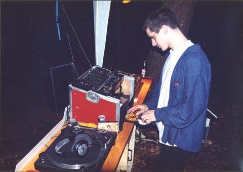 Das Klassiker-Setup mit einem Turnatble und Doppel CD- Player