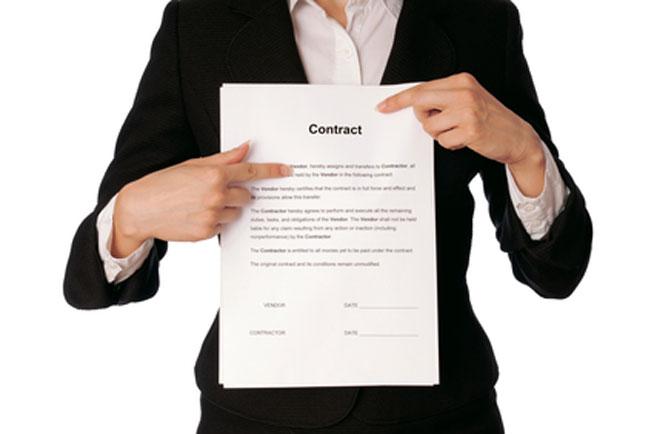 Ein Booking Vertrag könnte dich vor solchen Überraschungen schützen