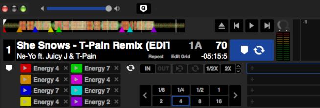 Automatisches setzen der CUE-Punkte bei einem R&B Track