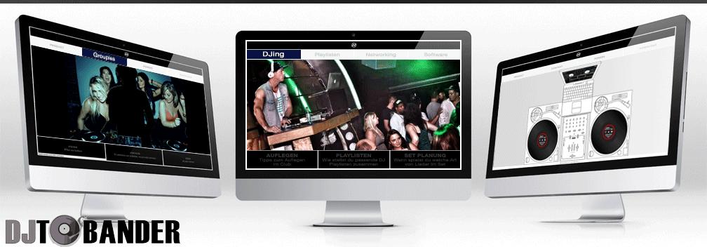 DJ TOBANDER header image