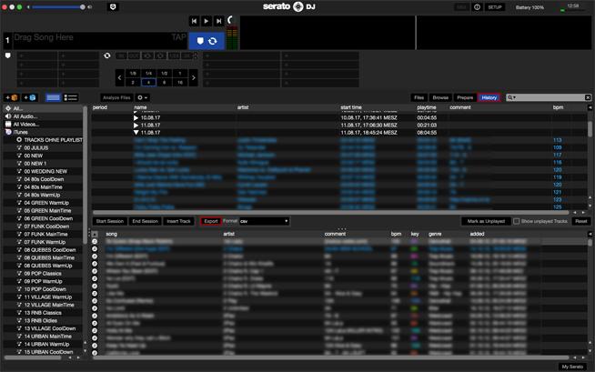 Serato DJ EXPORT