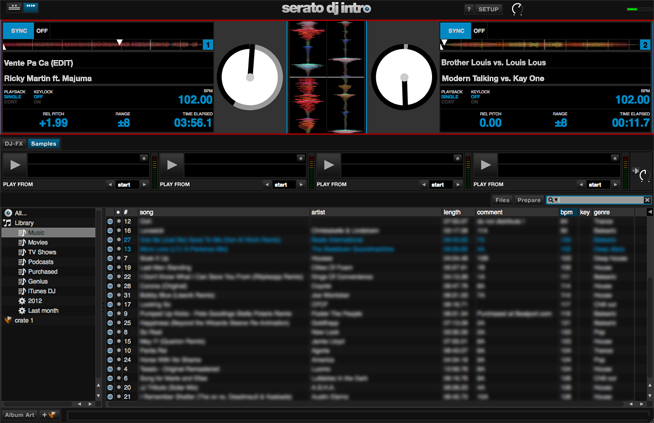 Serato DJ Intro DECKS