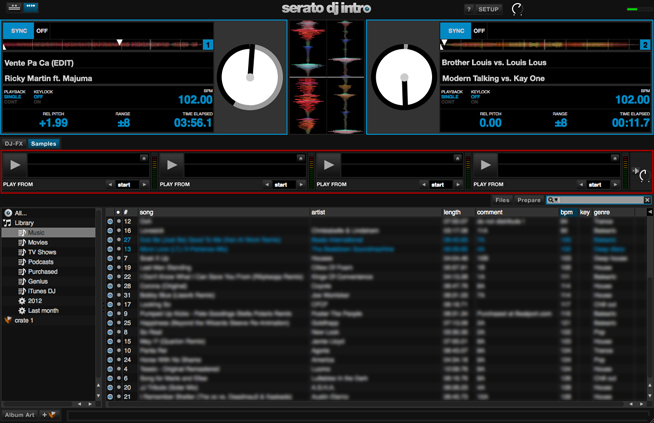 Serato DJ Intro Sampler